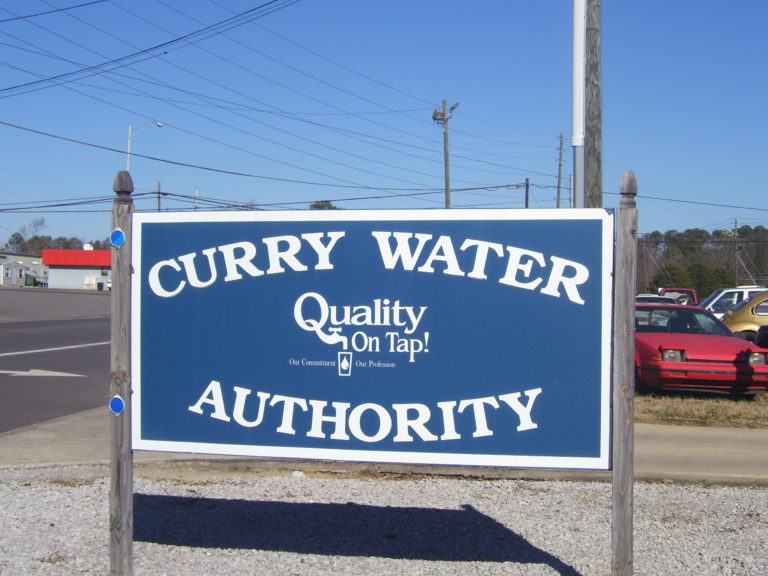 Curry water sign