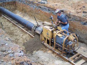 Line work - Arley, Alabama water system repair